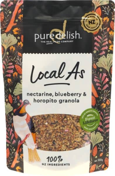Nectarine Blueberry & Horopito Granola Local As (1)